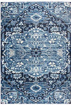 Panache Rizzy Home Collection Cali Medallion Rectangular Rugs, One Size , Blue