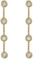 Jennifer Meyer Women's White Diamond Long-Drop Earrings