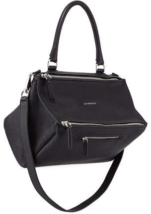 Givenchy Pandora Medium Sugar Satchel Bag, Black