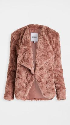 BB Dakota Come Cozy Faux Fur Jacket