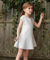 Gray Jasmine Dress - Toddler & Girls