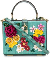 Dolce & Gabbana Floral-Embroidery Tote Bag