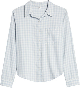 BP Plaid Button-Up Shirt