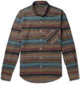 Freemans Sporting Club - Striped Jacquard Shirt