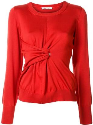 Ports 1961 twisted-waist sweater