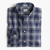 Secret Wash Shirt In Heather Plaid