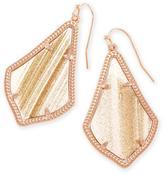 Kendra Scott Alex Drop Earrings in Gold Dusted Glass