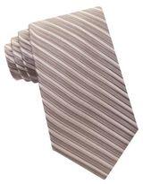 MICHAEL Michael Kors Ribbed Striped Silk Tie