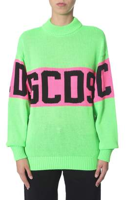 GCDS crew neck sweater