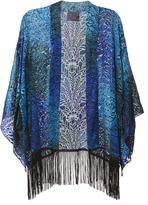 Anna Sui Burnout Velvet Kimono
