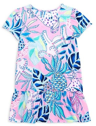 Lilly Pulitzer Little Girl's & Girl's Emina Ruffle Printed Dress