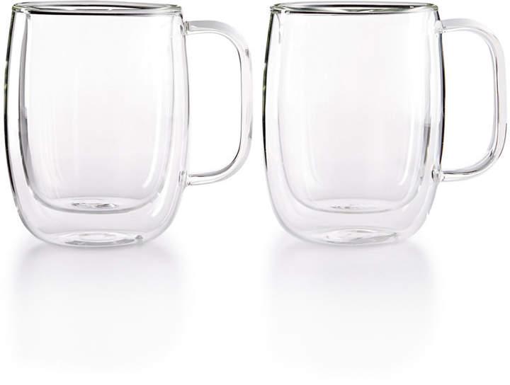 7fa754322ef Zwilling Sorrento Double Wall Coffee Mugs, Set of 2