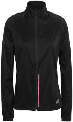 adidas Reflective-trimmed Tech-jersey Track Jacket