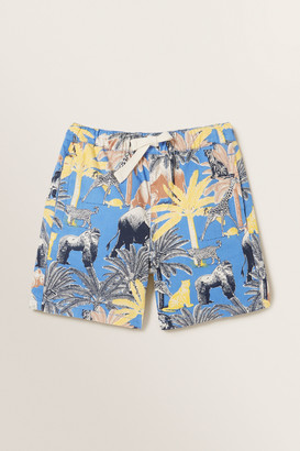 Seed Heritage Jungle Palm Shorts