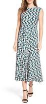 Chaus Women's Shadow Glass A-Line Maxi Dress