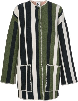 M Missoni oversized striped cardigan coat