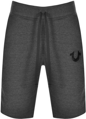 True Religion Active Logo Shorts Grey