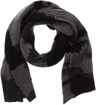 Valentino Camo Wool & Cashmere-Blend Scarf