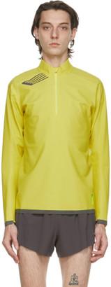Soar Running Yellow Elite Windbreaker Sweater