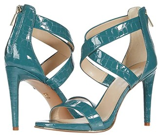 Kenneth Cole New York Brooke Cross Sandal (Sea Green) Women's Shoes