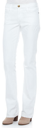 Current/Elliott The Slim Boot-Cut Jeans, Sugar