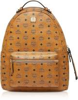 Mcm Cognac Visetos Stark Backpack