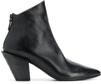 Marsèll Asymmetric Pointed Toe Boots
