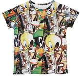 Eleven Paris CARTOON-PRINT COTTON-BLEND T-SHIRT