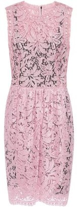 Dolce & Gabbana Wrap-effect Corded Lace Mini Dress