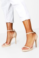 Boohoo Elizabeth Single Platform Two Part Heels