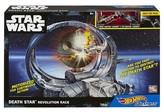 Hot Wheels Star Wars Carships Death Star Revolution Race Trackset
