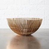 CB2 Soleil Small Copper Wire Bowl