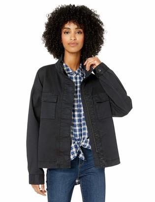 Goodthreads Cropped Utility Jacket Black XS