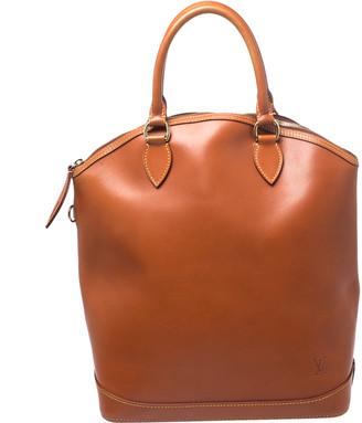 Louis Vuitton Caramel Nomade Leather Lockit Vertical Bag