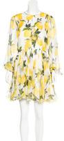 Dolce & Gabbana Spring 2016 Lemon Print Dress