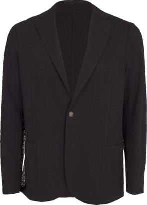 Eleventy Cotton Laser Cut Jacket