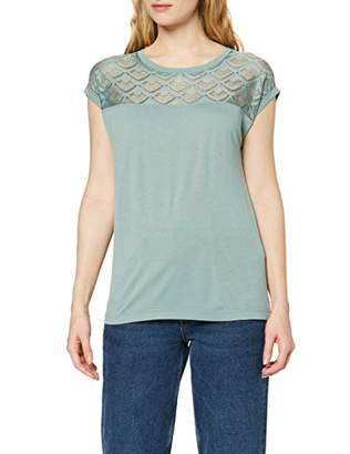 ONLY NOS (ONM0E) Women's ONLNICOLE S/S Mix TOP NOOS Blouse,Large