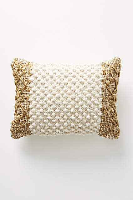 Joanna Gaines For Anthropologie Joanna Gaines for Anthropologie Textured Eva Pillow