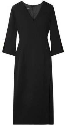 Akris Wool-blend Crepe Dress