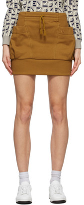 Kenzo Orange Pocket Miniskirt