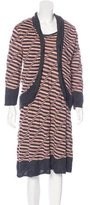 M Missoni Knit Wool Dress Set