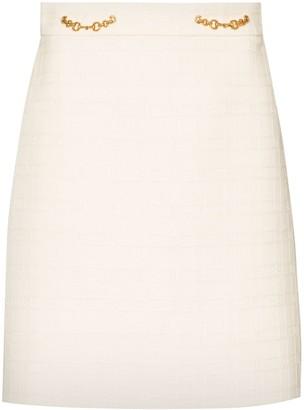 Gucci Horsebit-detail mini skirt