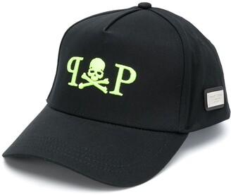 Philipp Plein PP skull embroidered baseball cap
