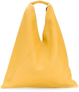 MM6 MAISON MARGIELA slouchy tote - women - Calf Leather/Polyester - One Size