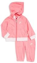 Nike Infant Girl's Vintage Gym Zip Hoodie & Sweatpants Set