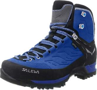 Salewa WS Mountain Trainer Mid Gore-TEX Trekking & hiking boots Women's Blue (Marlin/Alloy) 4 UK