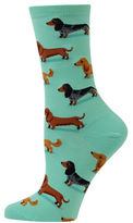 Hot Sox Dachshunds Printed Socks
