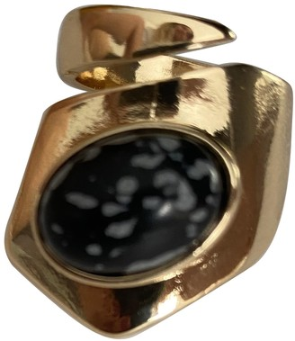 Non Signé / Unsigned Non Signe / Unsigned Art Deco Gold Metal Rings