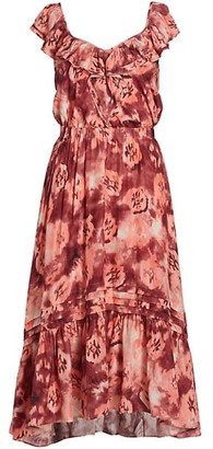 Ramy Brook Printed Larson Dress