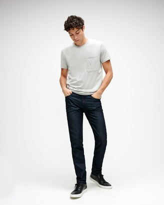 7 For All Mankind Airweft Paxtyn Skinny in Executive
